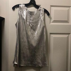 Silver Tory Burch blouse